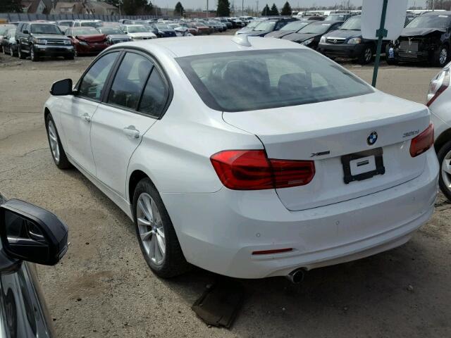 WBA8E5G53GNT40546 - 2016 BMW 320I XDRIV WHITE photo 3
