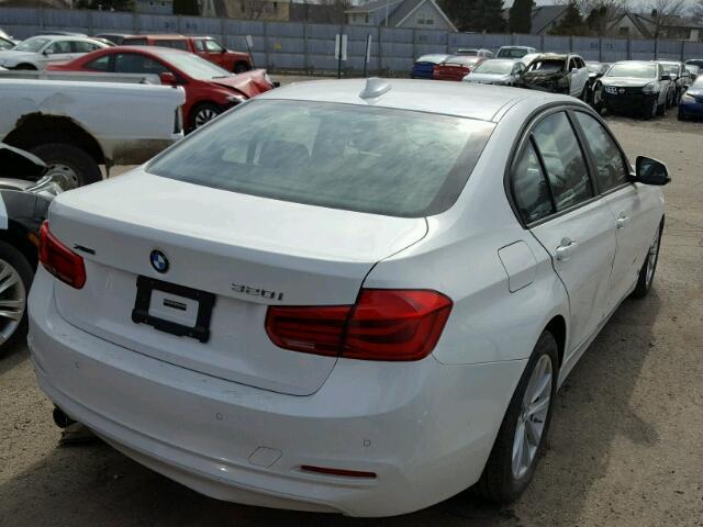 WBA8E5G53GNT40546 - 2016 BMW 320I XDRIV WHITE photo 4
