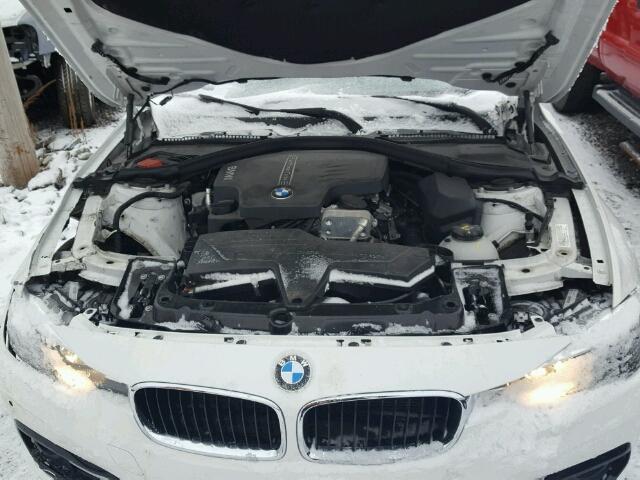 WBA8E5G53GNT40546 - 2016 BMW 320I XDRIV WHITE photo 7
