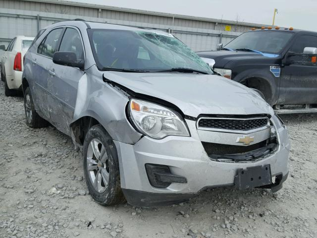 2CNFLCECXB6200881 - 2011 CHEVROLET EQUINOX LS SILVER photo 1