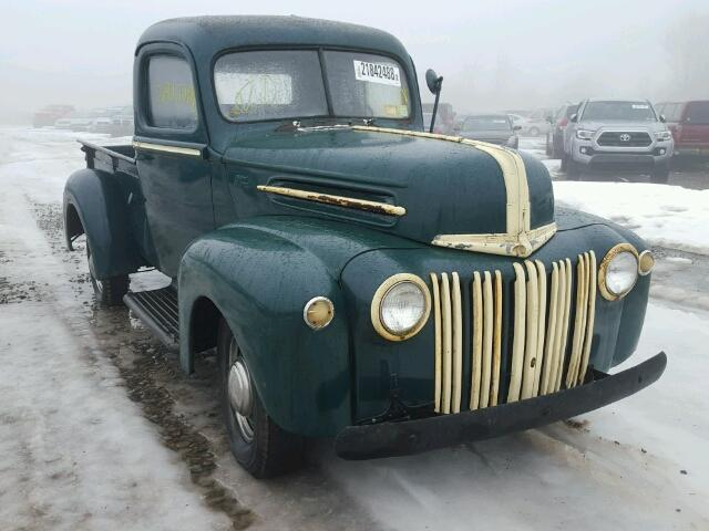 799C193900 - 1947 FORD PICK UP GREEN photo 1