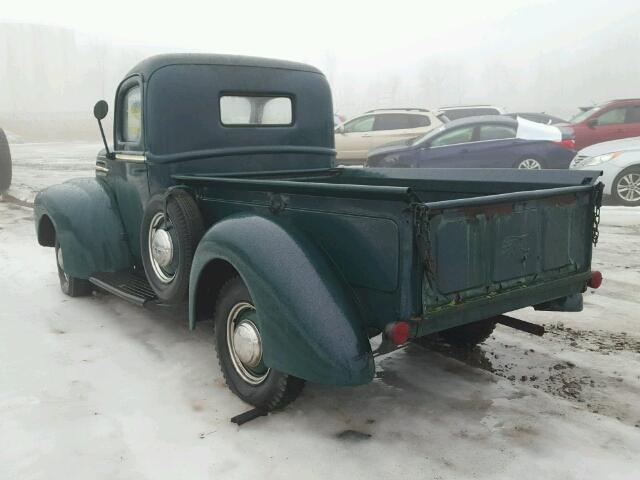 799C193900 - 1947 FORD PICK UP GREEN photo 3