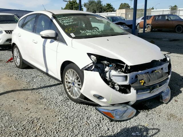 2012 Ford Focus Sel White 1fahp3m25cl279420 Price History History Of Past Auctions