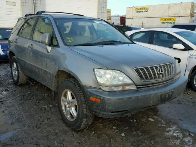 JTJHF10U820258373 - 2002 LEXUS RX 300 GRAY photo 1