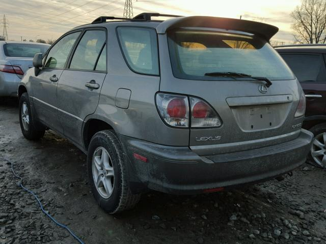JTJHF10U820258373 - 2002 LEXUS RX 300 GRAY photo 3