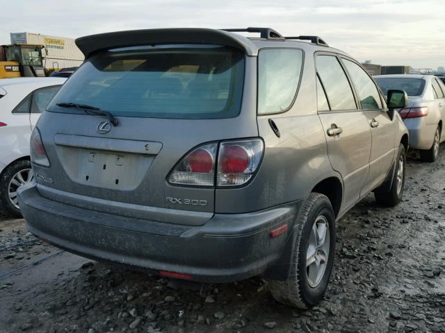 JTJHF10U820258373 - 2002 LEXUS RX 300 GRAY photo 4