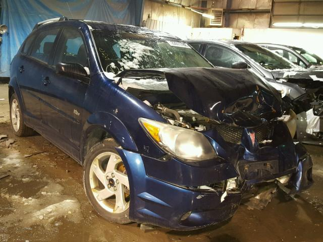 5Y2SL62894Z428558 - 2004 PONTIAC VIBE BLUE photo 1