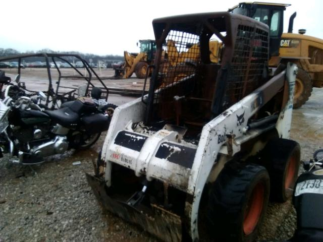 512260465 - 2002 BOBCAT 763 WHITE photo 2