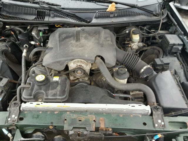 1LNHM82W72Y615751 - 2002 LINCOLN TOWN CAR S GREEN photo 7