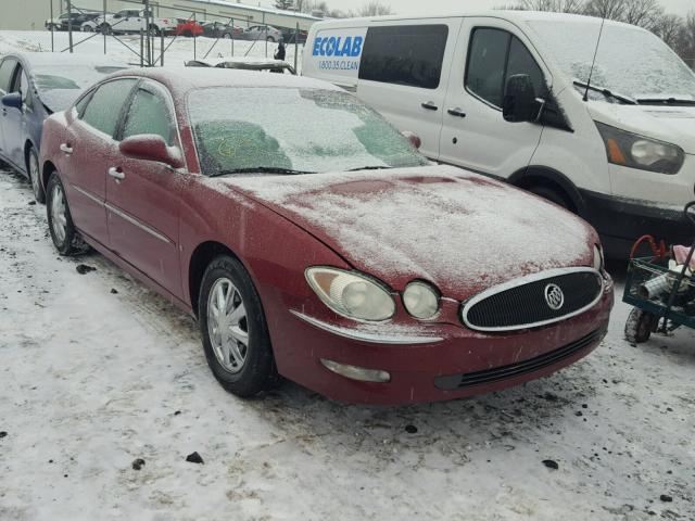 2G4WD582661179493 - 2006 BUICK LACROSSE C RED photo 1