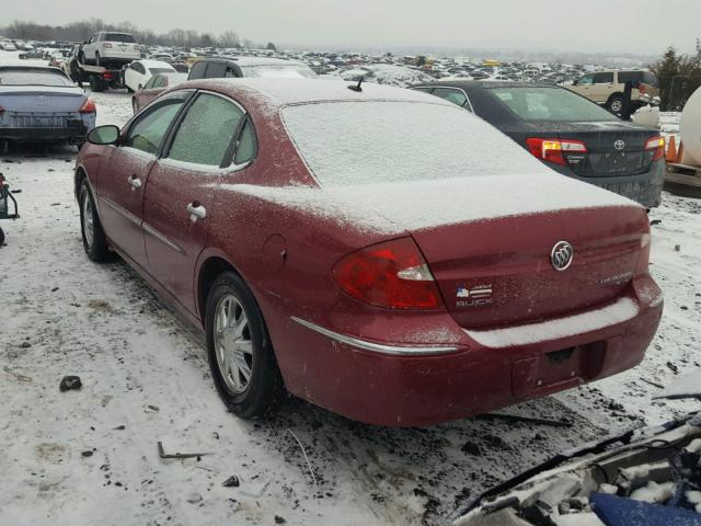 2G4WD582661179493 - 2006 BUICK LACROSSE C RED photo 3