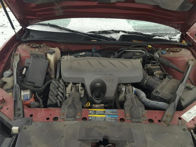 2G4WD582661179493 - 2006 BUICK LACROSSE C RED photo 7