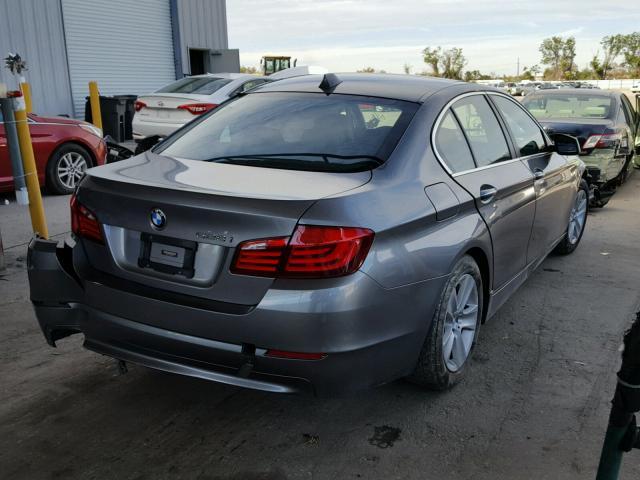 WBAXG5C50DD228994 - 2013 BMW 528 I GRAY photo 4