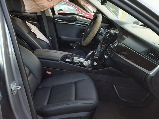 WBAXG5C50DD228994 - 2013 BMW 528 I GRAY photo 5