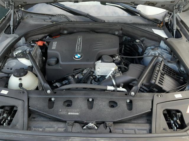 WBAXG5C50DD228994 - 2013 BMW 528 I GRAY photo 7
