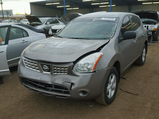 JN8AS5MV7AW113156 - 2010 NISSAN ROGUE S GRAY photo 2