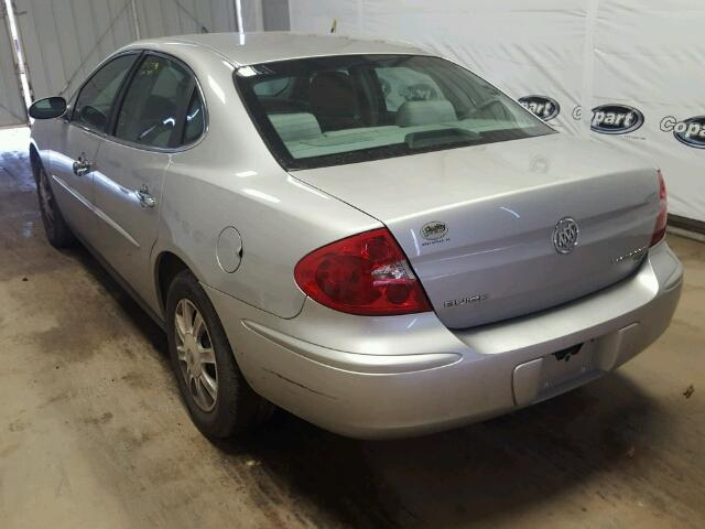 2G4WC582571223259 - 2007 BUICK LACROSSE C SILVER photo 3