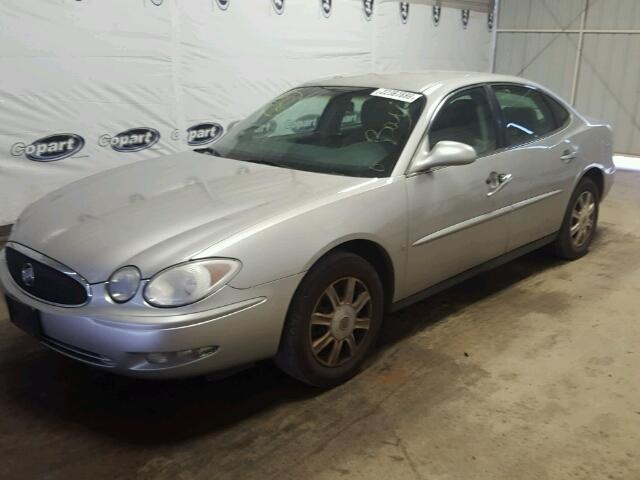 2G4WC582571223259 - 2007 BUICK LACROSSE C SILVER photo 9