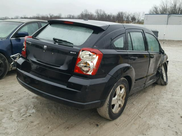 1B3HB48B57D109228 - 2007 DODGE CALIBER SX BLACK photo 4