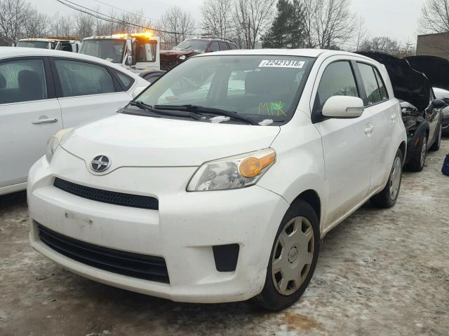 jtkku4b44a1007204 2010 toyota scion xd white price history history of past auctions. Black Bedroom Furniture Sets. Home Design Ideas