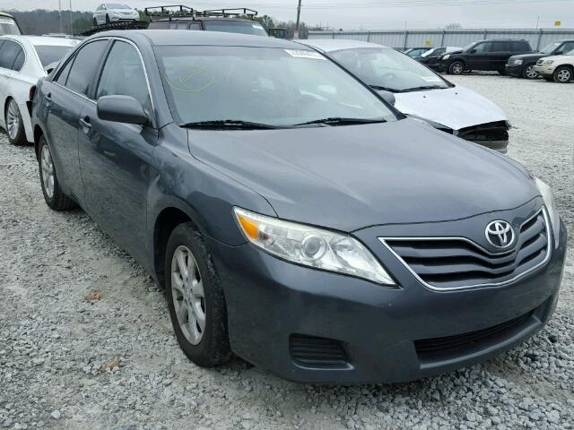 4T1BF3EKXBU723445 - 2011 TOYOTA CAMRY BASE GRAY photo 1