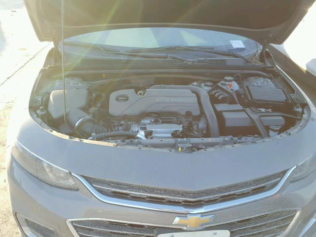 1G1ZE5STXHF212810 - 2017 CHEVROLET MALIBU LT GRAY photo 7