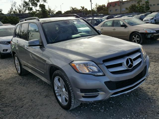 WDCGG5HB9EG258149 - 2014 MERCEDES-BENZ GLK 350 SILVER photo 1