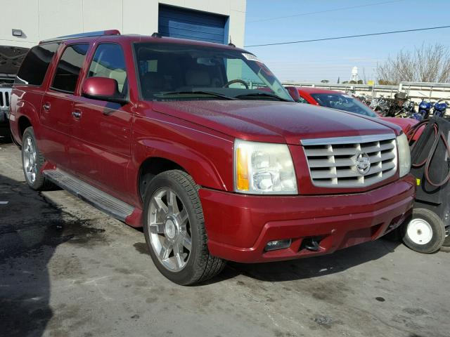 3GYFK66N64G203545 - 2004 CADILLAC ESCALADE E MAROON photo 1