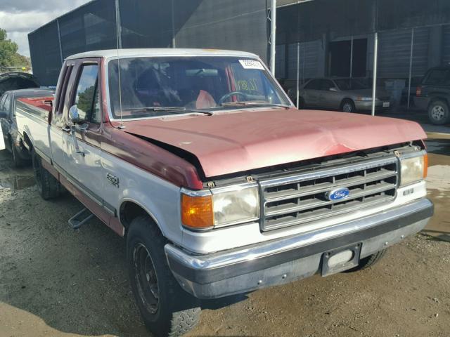 1FTHX25H7KKB35072 - 1989 FORD F250 WHITE photo 1