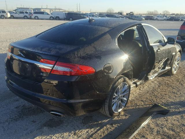 SAJWA0E7XD8S99504   2013 JAGUAR XF BLACK Photo 4