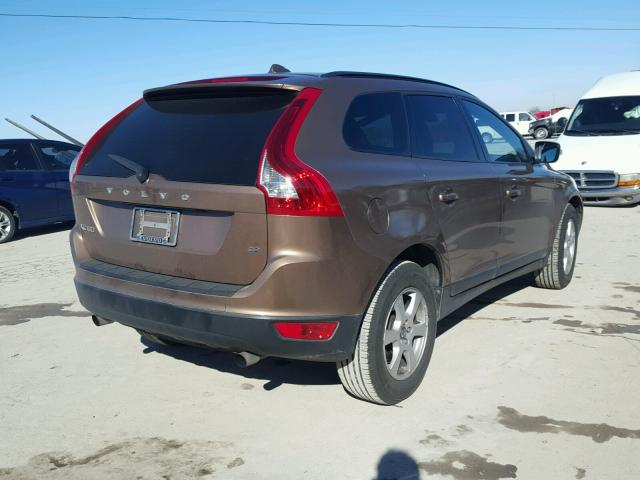 YV4982DL4A2082849 - 2010 VOLVO XC60 3.2 BROWN photo 4