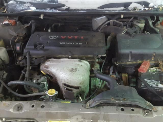 4T1BE32K02U595384 - 2002 TOYOTA CAMRY LE GRAY photo 7