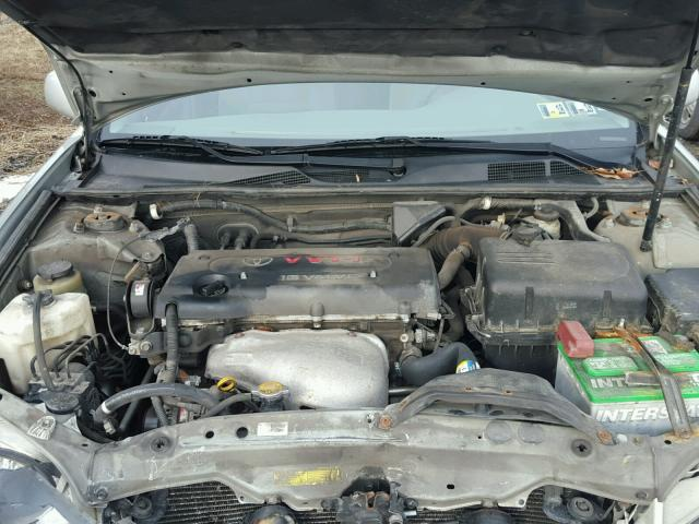 4T1BE32K65U424336 - 2005 TOYOTA CAMRY LE SILVER photo 7