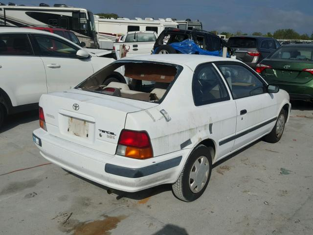 JT2EL56D3S0050682 - 1995 TOYOTA TERCEL DX WHITE photo 4