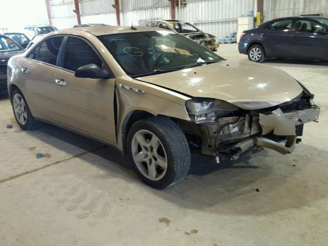 1G2ZG57B084117108 - 2008 PONTIAC G6 BASE GOLD photo 1