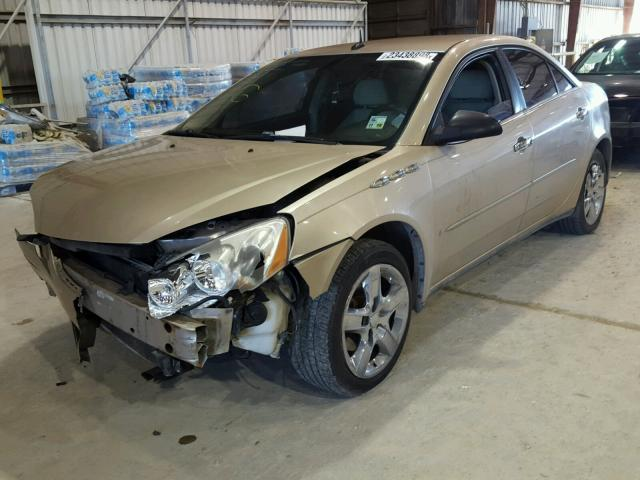 1G2ZG57B084117108 - 2008 PONTIAC G6 BASE GOLD photo 2