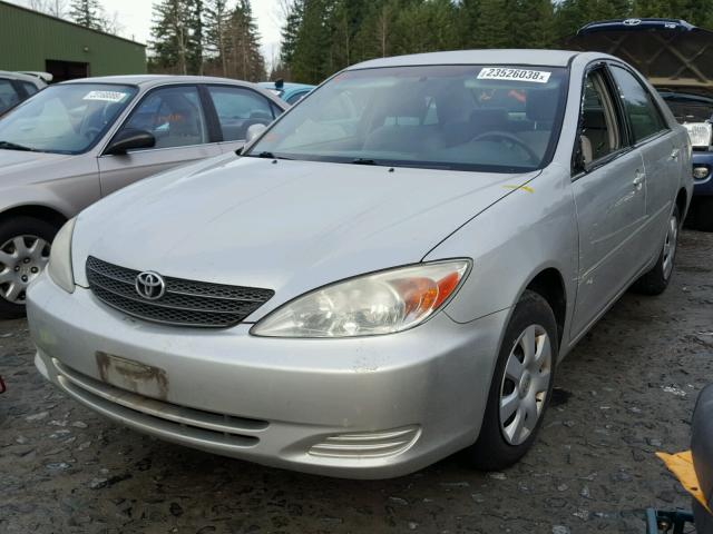 4T1BE32K83U251674 - 2003 TOYOTA CAMRY LE SILVER photo 2