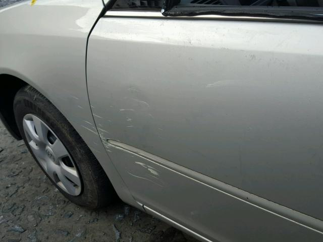 4T1BE32K83U251674 - 2003 TOYOTA CAMRY LE SILVER photo 9