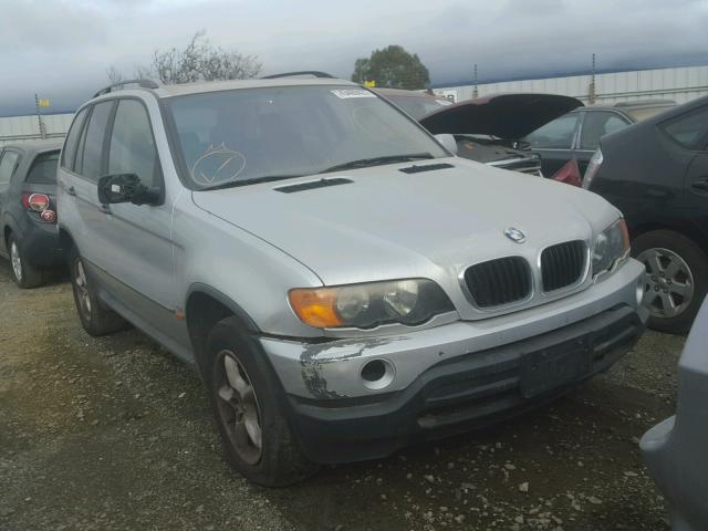 WBAFA53551LM73708 - 2001 BMW X5 3.0I SILVER photo 1