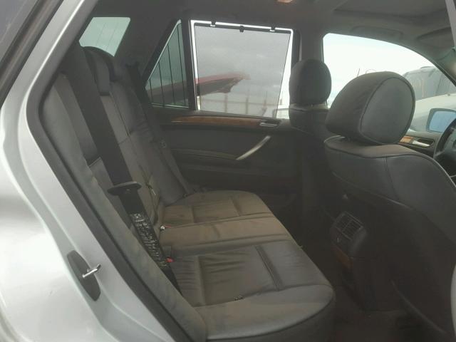 WBAFA53551LM73708 - 2001 BMW X5 3.0I SILVER photo 6