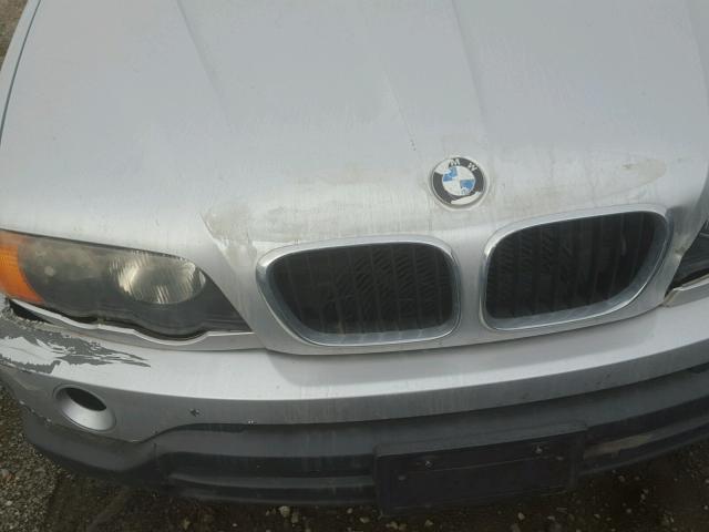 WBAFA53551LM73708 - 2001 BMW X5 3.0I SILVER photo 9