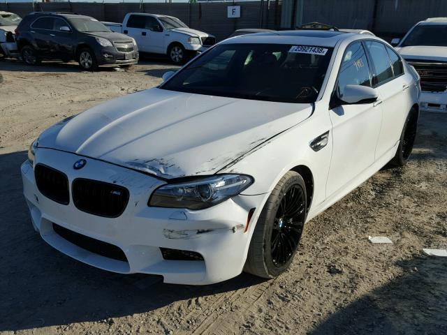 WBSFV9C56GG343171 - 2016 BMW M5 WHITE photo 2