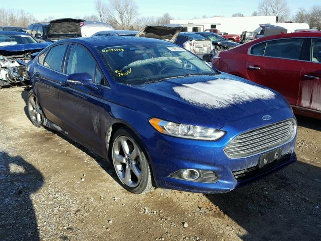 2015 Ford Fusion Se Blue 3fa6p0hd6fr302355 Price History History Of Past Auctions