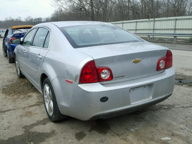 1G1ZA5E16BF161366 - 2011 CHEVROLET MALIBU LS SILVER photo 3