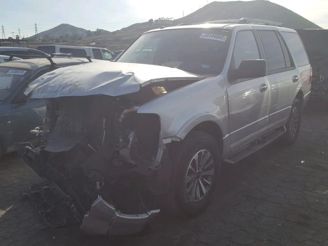 1FMJU1HTXHEA12003 - 2017 FORD EXPEDITION SILVER photo 2