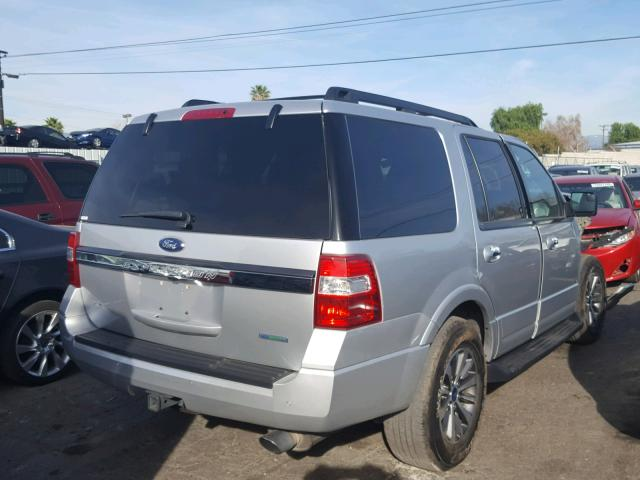 1FMJU1HTXHEA12003 - 2017 FORD EXPEDITION SILVER photo 4
