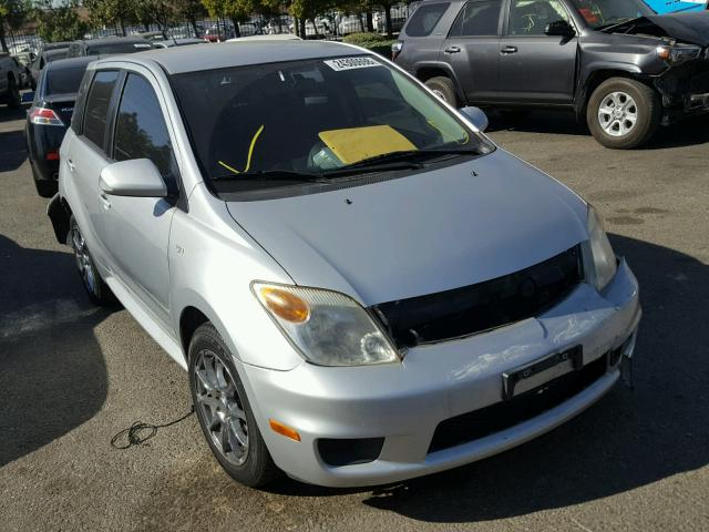 JTKKT624365007239   2006 TOYOTA SCION XA SILVER Photo 1