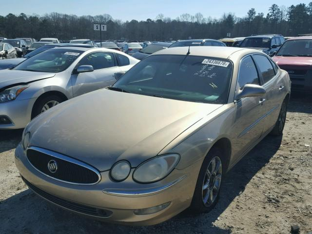 2G4WE537751220700 - 2005 BUICK LACROSSE C SILVER photo 2