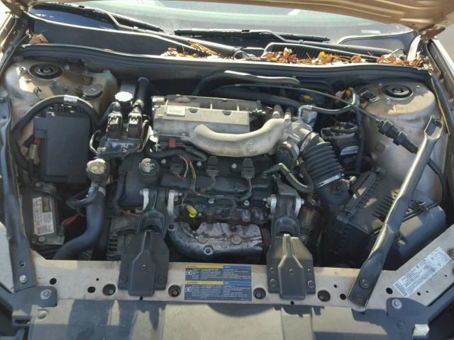 2G4WE537751220700 - 2005 BUICK LACROSSE C SILVER photo 7