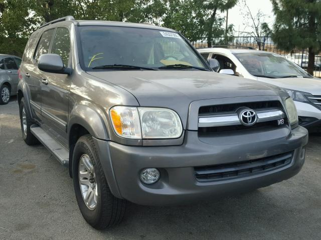 5TDZT38A55S260413 - 2005 TOYOTA SEQUOIA LI GRAY photo 1